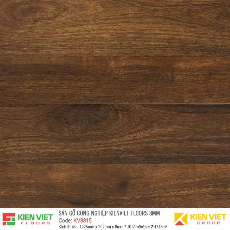 Sàn gỗ Kienviet Floor KV8815 hèm V | 8mm