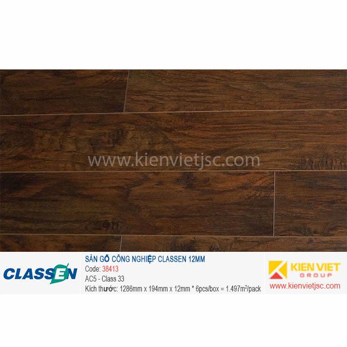 Sàn gỗ Classen AC5 38413   12mm