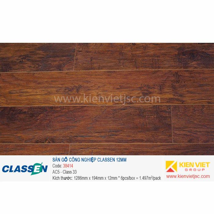 Sàn gỗ Classen AC5 38414 | 12mm