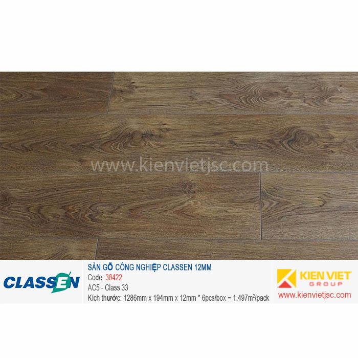 Sàn gỗ Classen AC5 38422 - 12mm