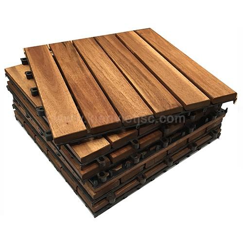 Vỉ gỗ ban công bông tràm 30x30x22 cm 6 nan