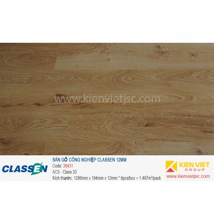 Sàn gỗ Classen AC5 38431 | 12mm