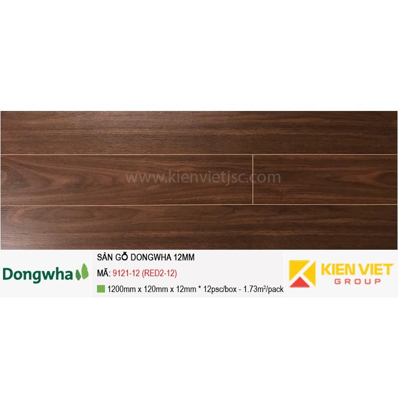 Sàn gỗ Dongwha 9121-12 (RED2-12) | 12mm
