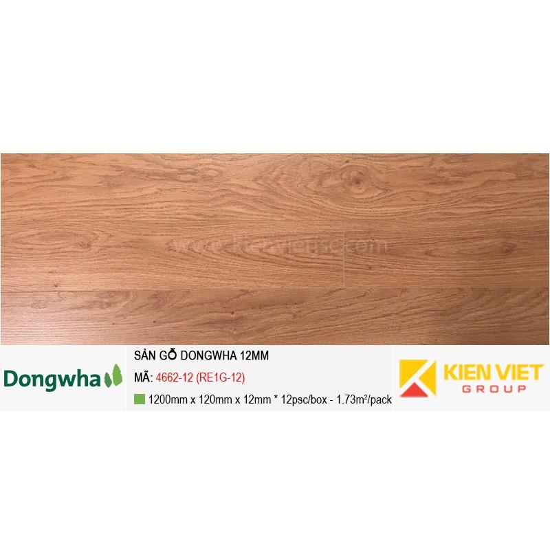Sàn gỗ Dongwha 4662-12 (RE1G-12) | 12mm