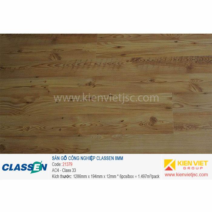Sàn gỗ Classen AC4 21379 - 8mm