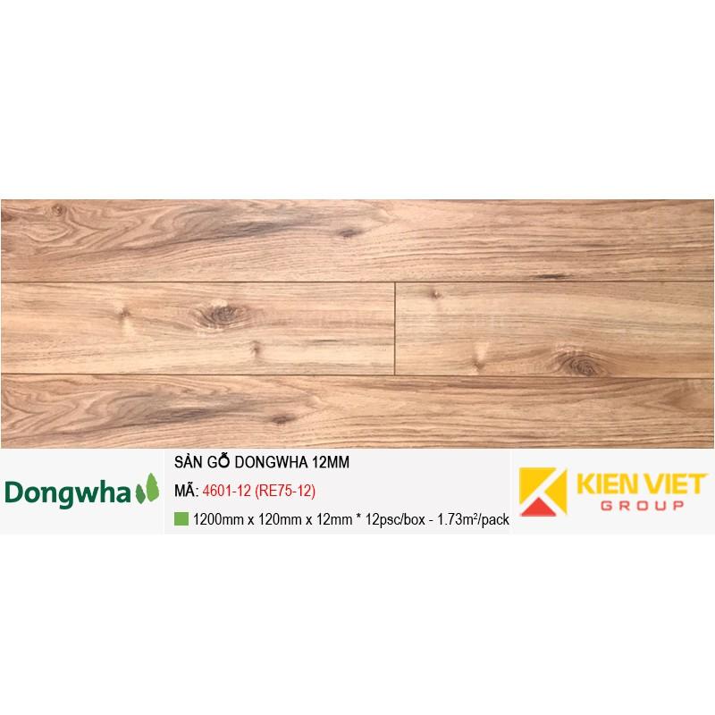 Sàn gỗ Dongwha 4601-12 (RE75-12) | 12mm