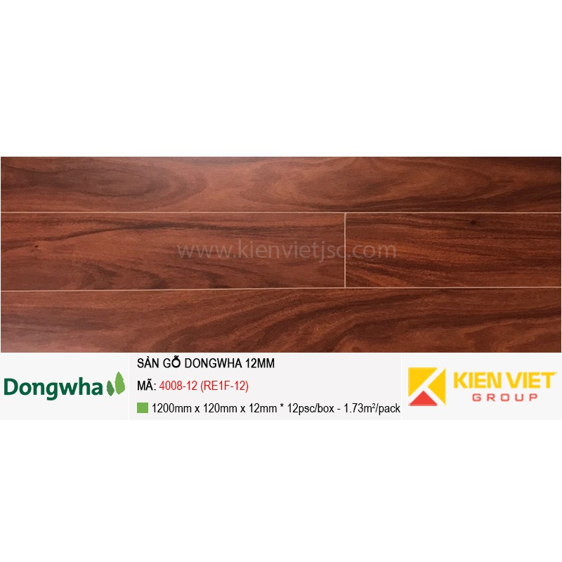 Sàn gỗ Dongwha 4008-12 (RE1F-12) | 12mm