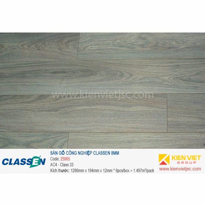 Sàn gỗ Classen AC4 25965 | 8mm