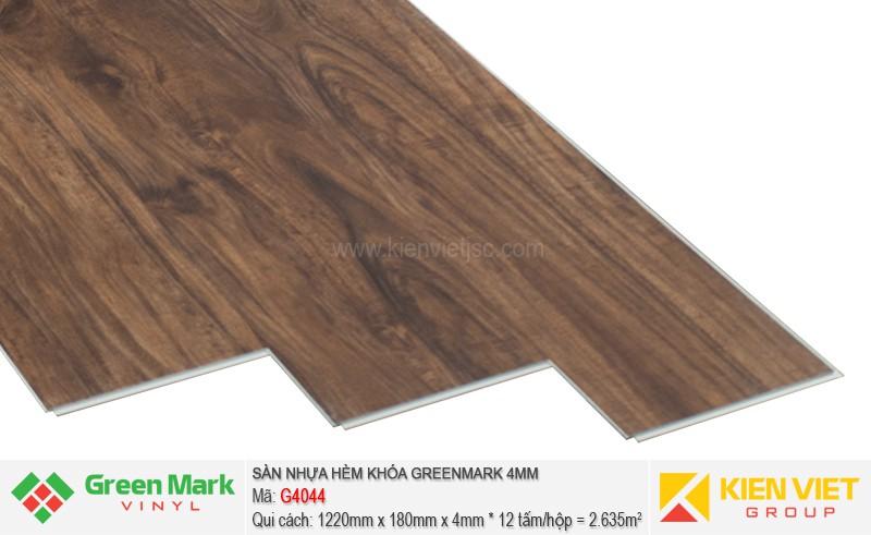 Sàn nhựa hèm khóa Green Mark G4044   4mm