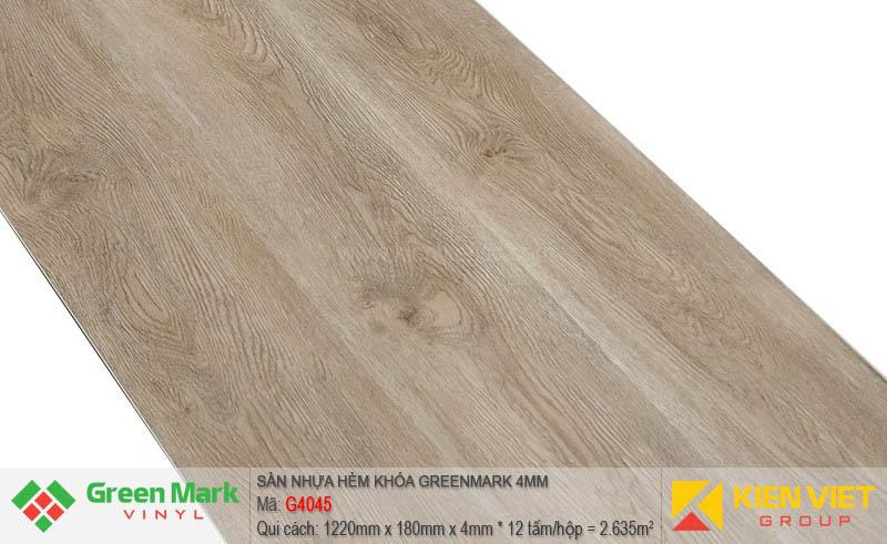 Sàn nhựa hèm khóa Green Mark G4045 | 4mm