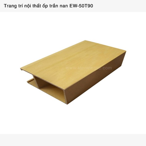 Trang trí nội thất ốp trần nan Ecotech Wood   EW-50T90