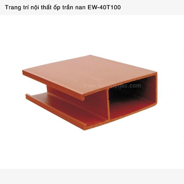 Trang trí nội thất ốp trần nan | EW - 40T100