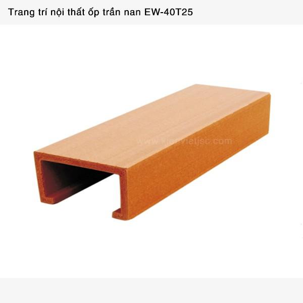 Trang trí nội thất ốp trần nan | EW - 40T25