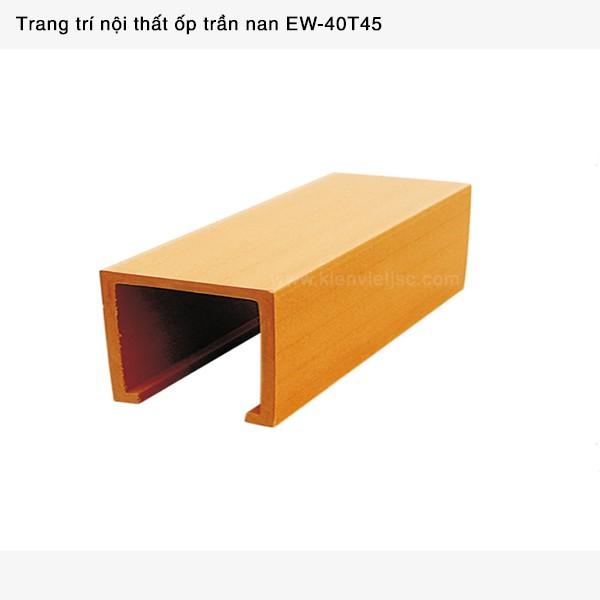 Trang trí nội thất ốp trần nan | EW - 40T45