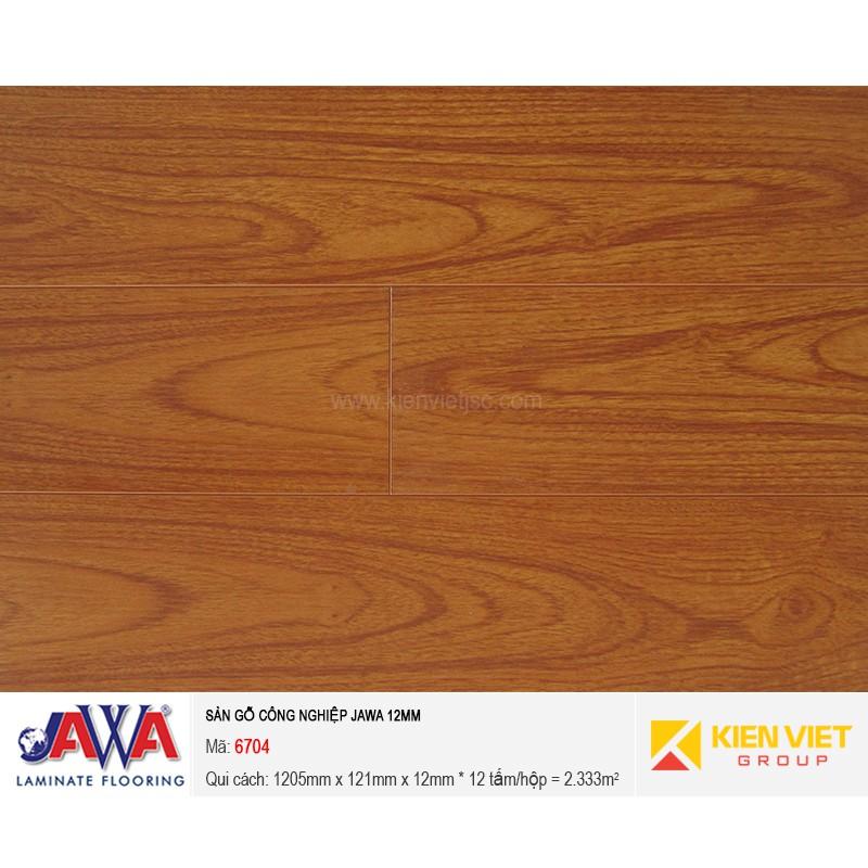 Sàn gỗ công nghiệp JAWA - 6704 | 12mm