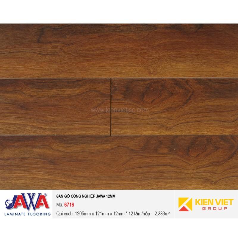 Sàn gỗ công nghiệp JAWA - 6716 | 12mm