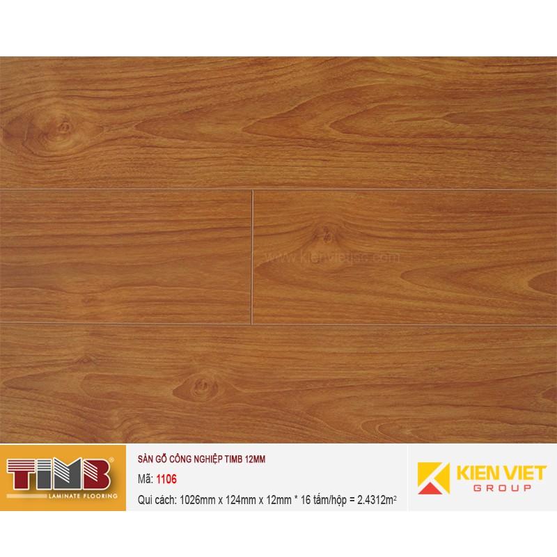 Sàn gỗ công nghiệp TIMB 1106 | 12mm