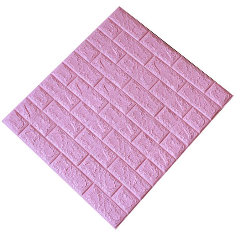 Tấm ốp tường xốp 3D hồng nhạt 11 | HN11