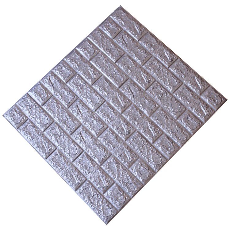 Tấm ốp tường xốp 3D xám ghi | XG8
