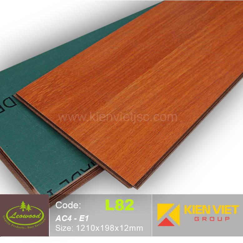 Sàn gỗ công nghiệp Thái lan Leowood L82 | 12mm