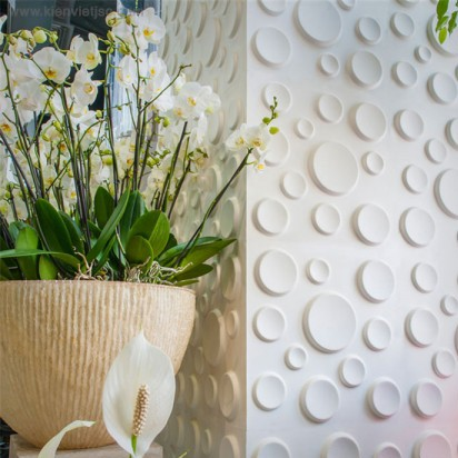 Tấm ốp tường 3D PVC | P512 - CRATERS