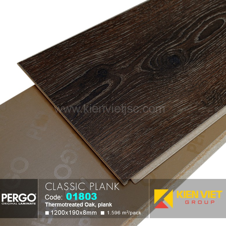 Sàn gỗ Pergo Classic Blank 01803 | 8mm