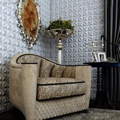 Tấm ốp tường 3D PVC | P514 - RHOMBUS