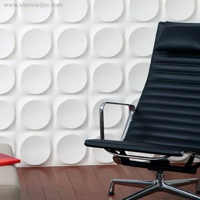 Tấm ốp tường 3D PVC | P518 - ELLIPSES