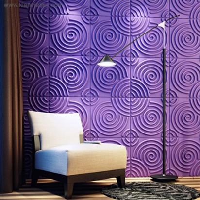 Tấm ốp tường 3D PVC | P522 - RIPPLE