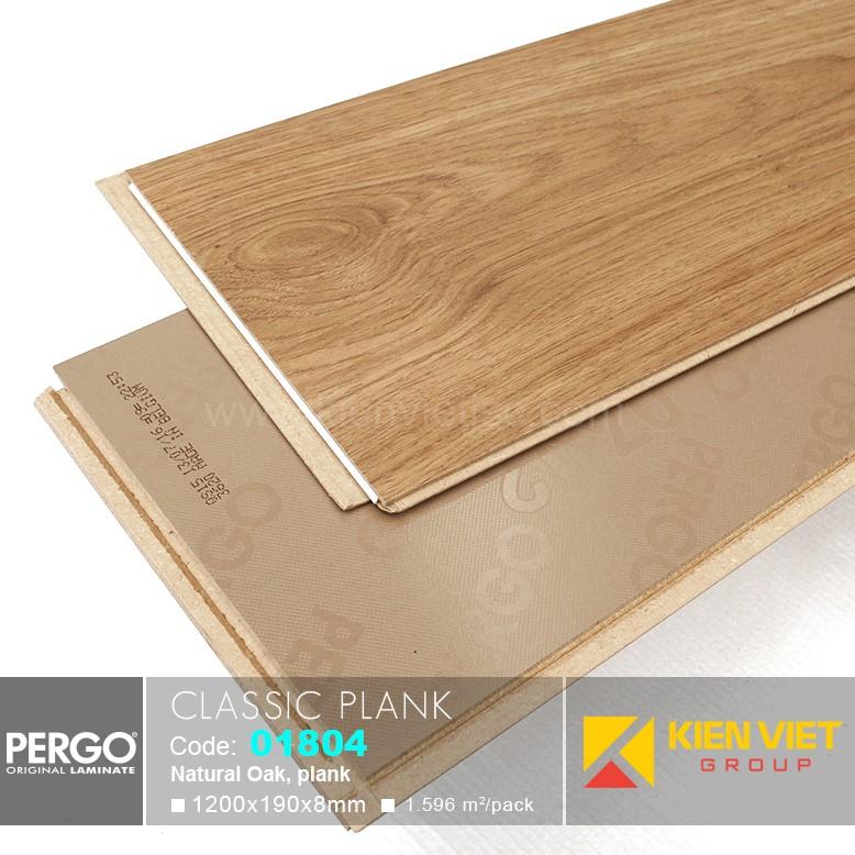 Sàn gỗ Pergo Classic Blank 01804 | 8mm
