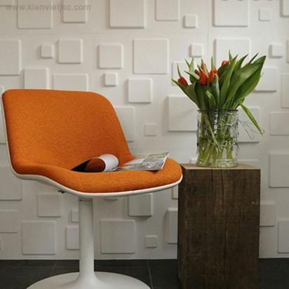 Tấm ốp tường 3D PVC | P525 - SQUARES