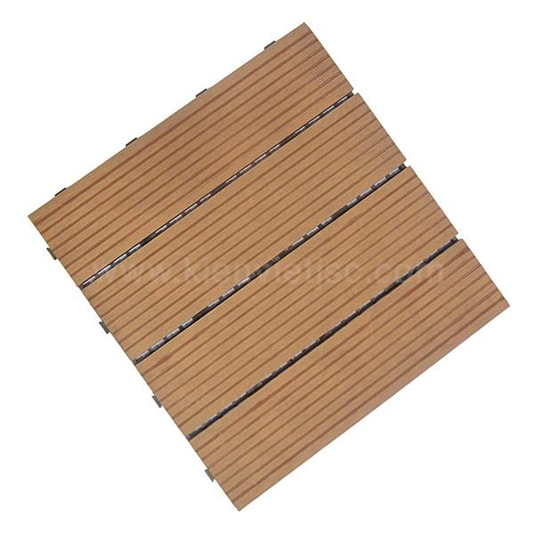 Vỉ gỗ nhựa ban công 30x30 Wood 4 nan