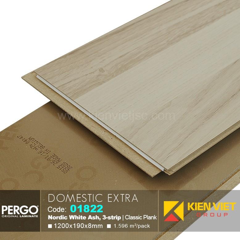 Sàn gỗ Pergo Domestic Extra 01822   8mm