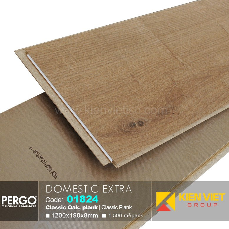 Sàn gỗ Pergo Domestic Extra 01824 | 8mm