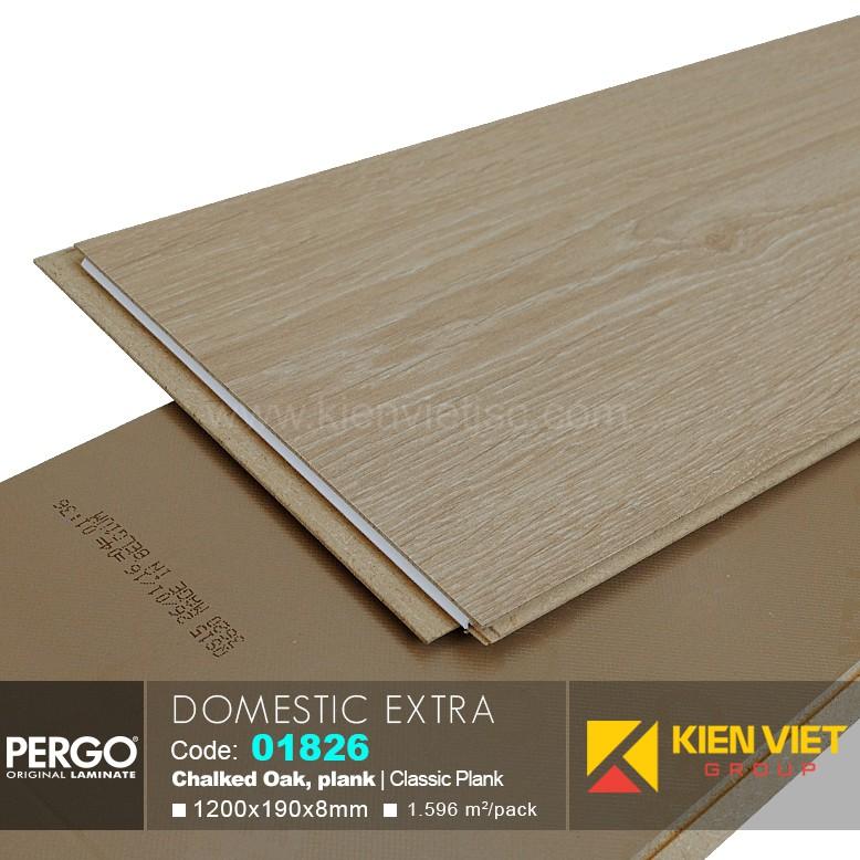 Sàn gỗ Pergo Domestic Extra 01826   8mm