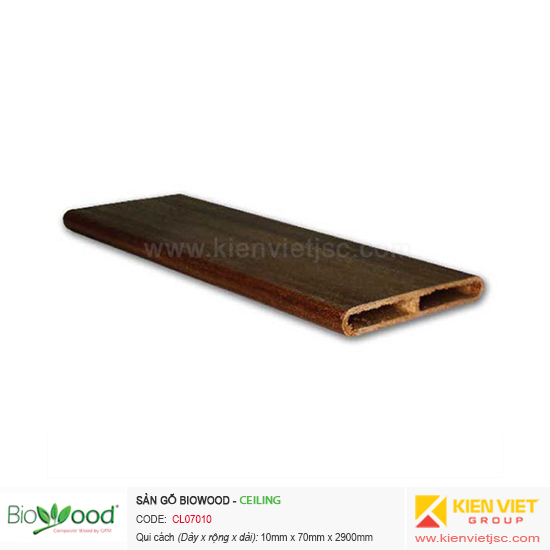 Tấm ốp trần Biowood CL07010