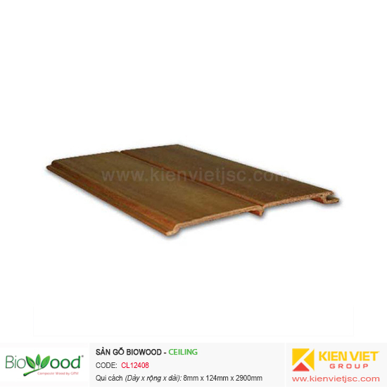 Tấm ốp trần Biowood CL12408