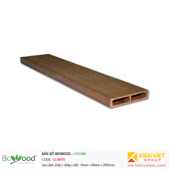 Tấm ốp trần Biowood CL06816