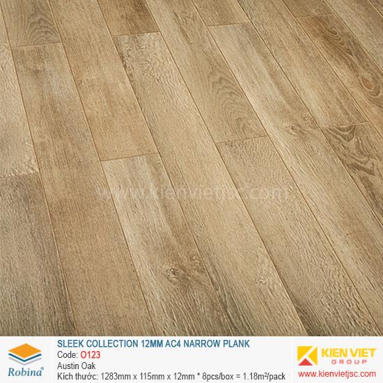 Sàn gỗ Robina Sleek Collection O123 Austin Oka | 12mm