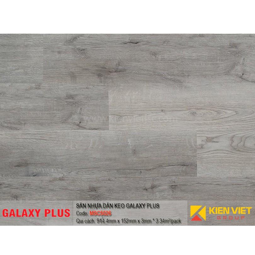 Sàn nhựa Galaxy Plus sợi thủy tinh MSC5026 | 3mm