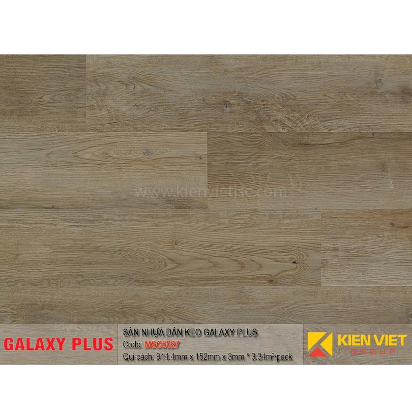 Sàn nhựa Galaxy Plus sợi thủy tinh MSC5027 | 3mm