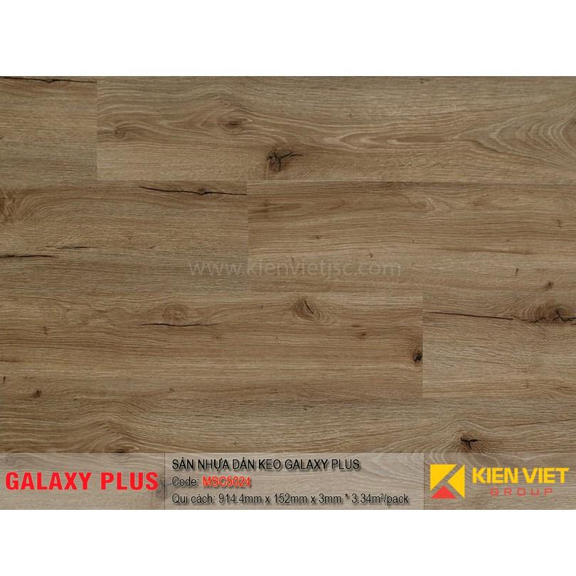 Sàn nhựa Galaxy Plus sợi thủy tinh MSC5024 | 3mm