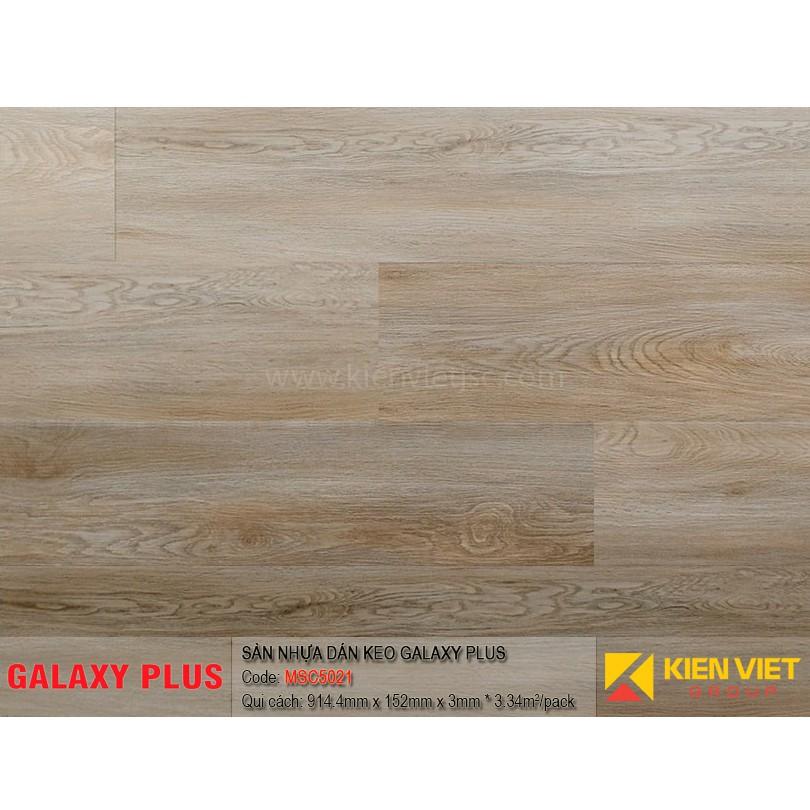 Sàn nhựa Galaxy Plus sợi thủy tinh MSC5021 | 3mm