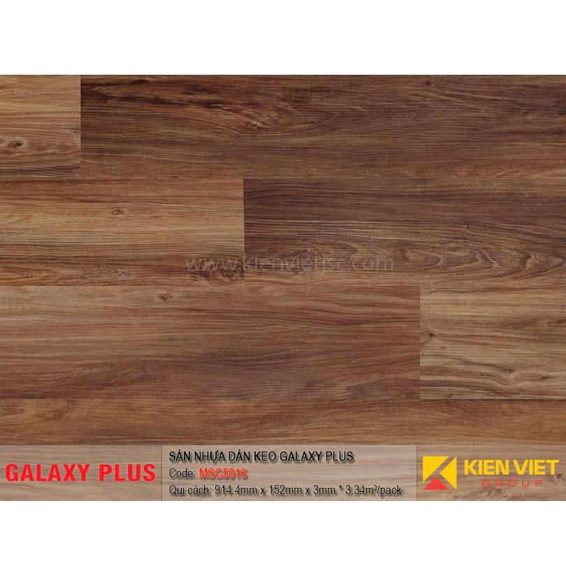 Sàn nhựa Galaxy Plus sợi thủy tinh MSC5016 | 3mm