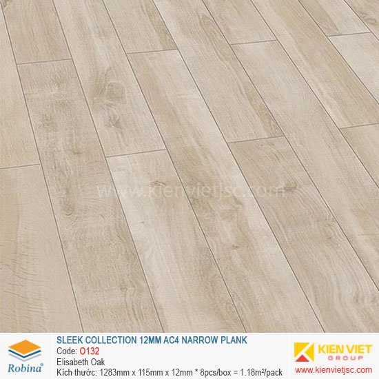 Sàn gỗ Robina Sleek Collection O132 Elisabeth Oka | 12mm
