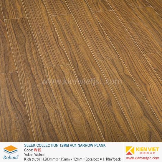 Sàn gỗ Robina Sleek Collection W15 Yukon Walnut | 12mm
