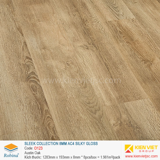 Sàn gỗ Robina architect collection O123 Austin Oak | 8mm