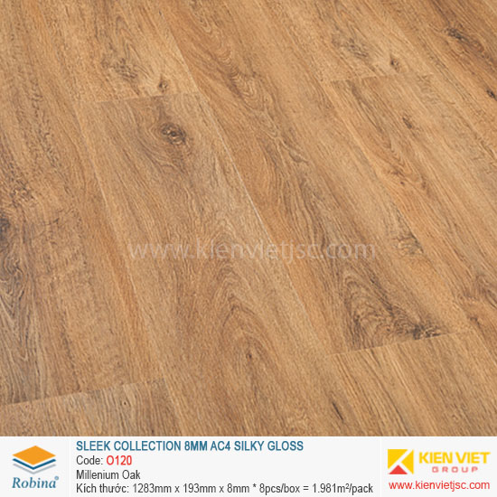 Sàn gỗ Robina architect collection O120 Millenium Oak | 8mm