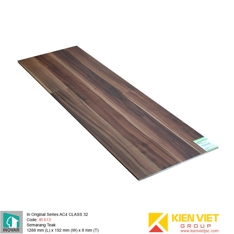 Sàn gỗ Inovar Original Series MF613 Valley Plum | 8mm