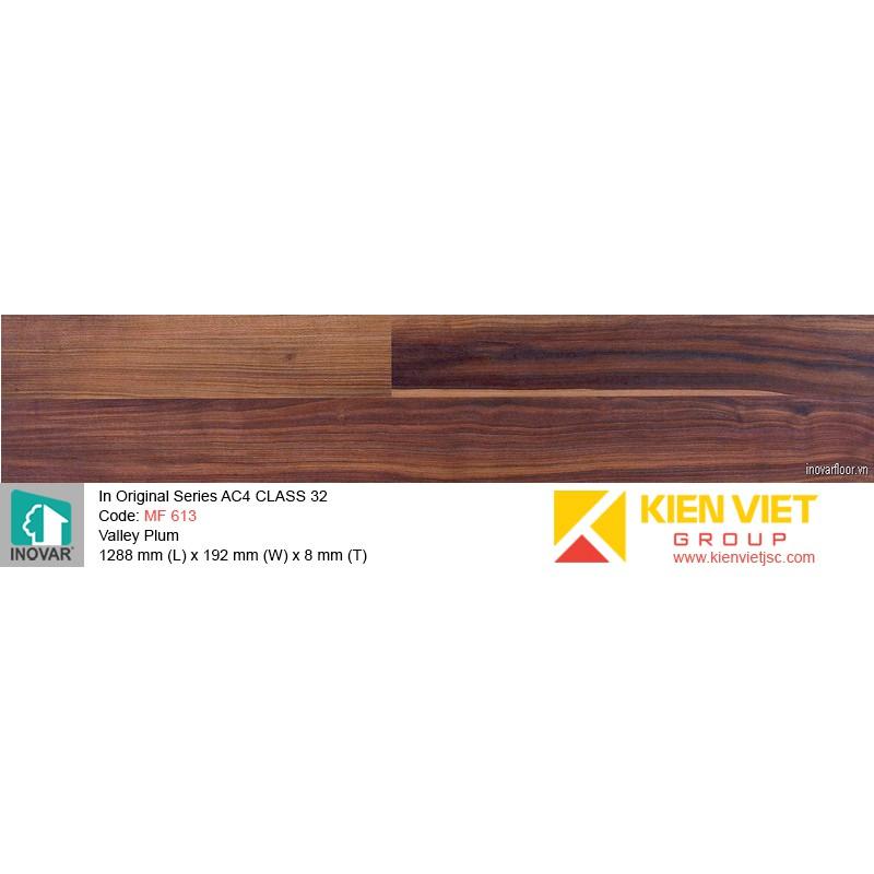 Sàn gỗ Inovar Original Series MF 613 Valley Plum | 8mm